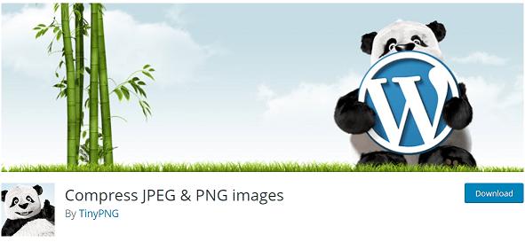 Extension wordpress pour réduire le poids d'une image