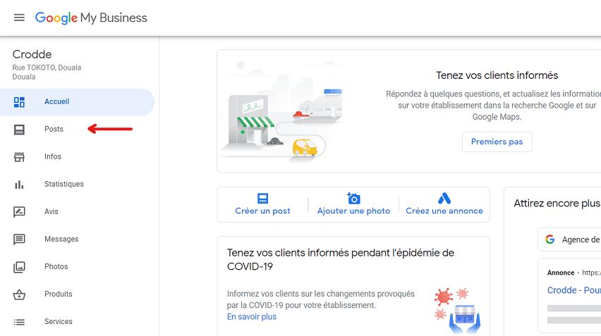 poster du contenu pour optimiser sa fiche google my business