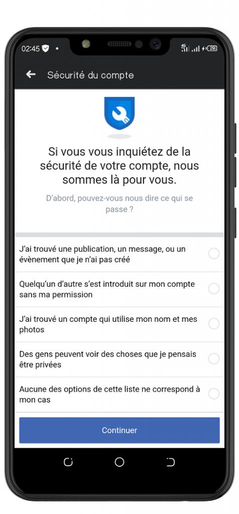 Facebook hacked signaler son compte facebook piraté