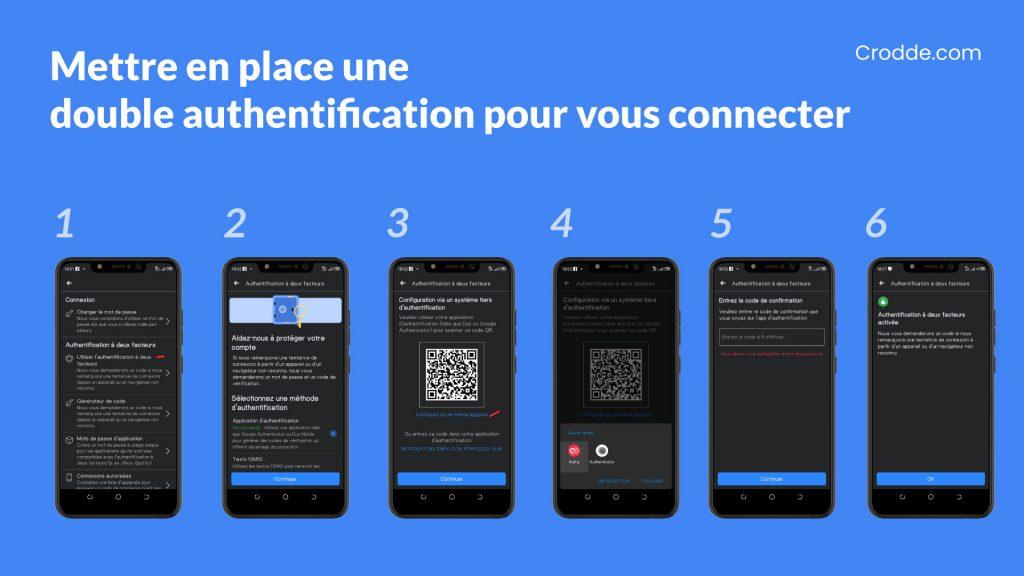 Mettre en place une double authentification pour vous connecter à votre compte facebook