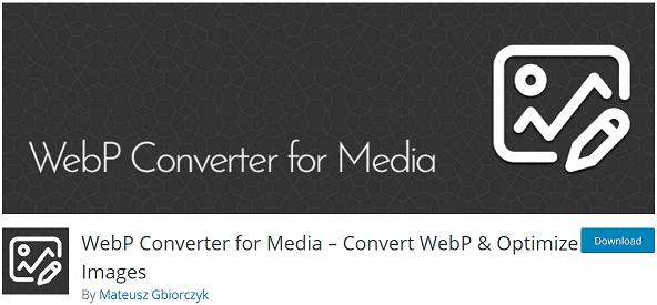 Convertir et optimiser les images en WebP