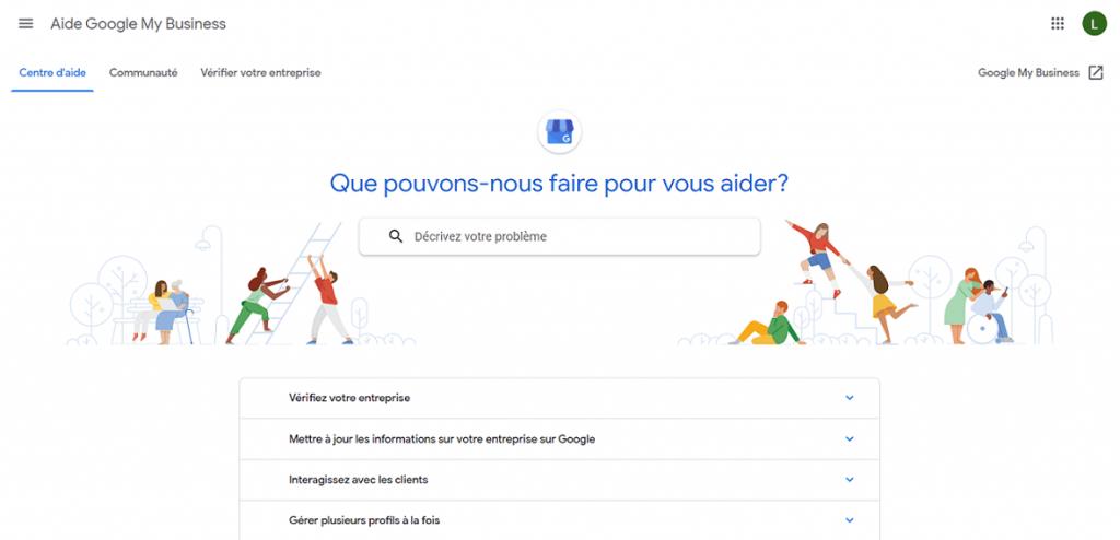forum d'entraide de la communauté Google My Business