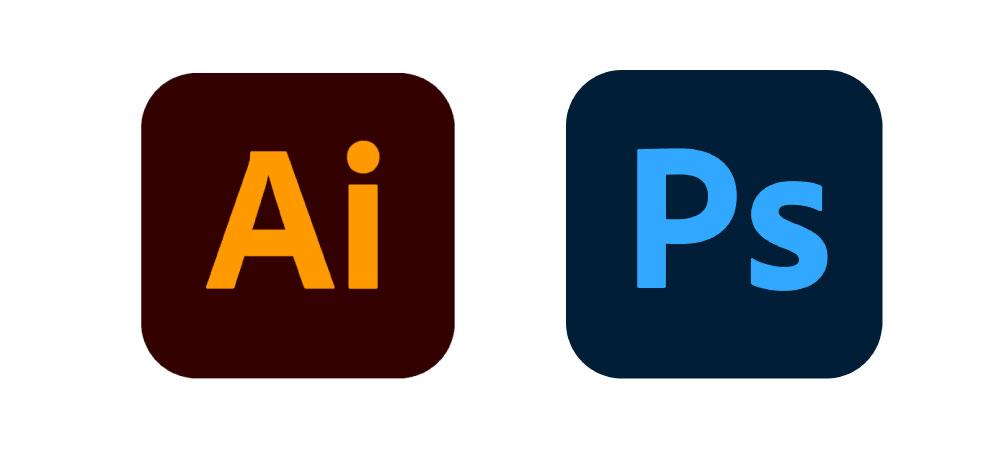 logo photoshop et illustrator reduire le poids d'une image