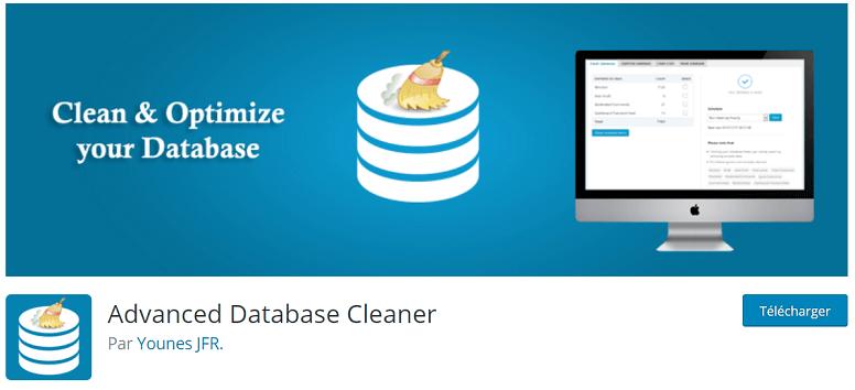 Plugin pour nettoyer la base de données d'un site wordpress lent