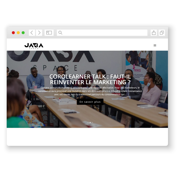 Jabaspace réalisation de l'agence crodde